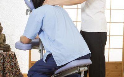masaje en el cuello