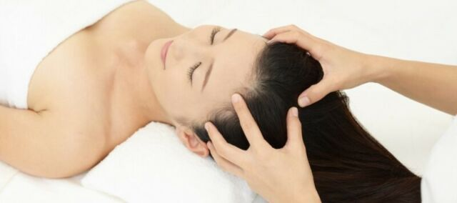 masaje cuero cabelludo en Madrid